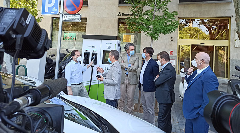 punto recarga rápida GIC en Madrid